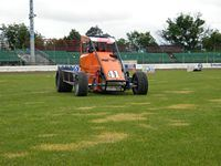 The Midget at Palmerston North Speedway