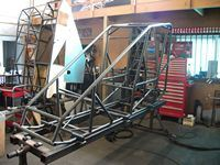 Chassis in Development at CSR Fabrications